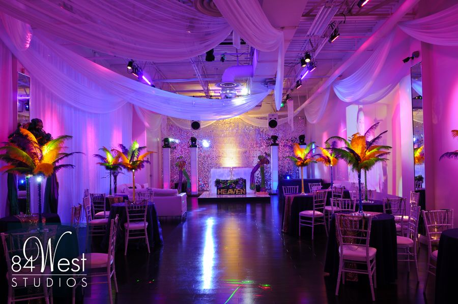 heavens mardi gras sweet 16 at a9 event space in fort