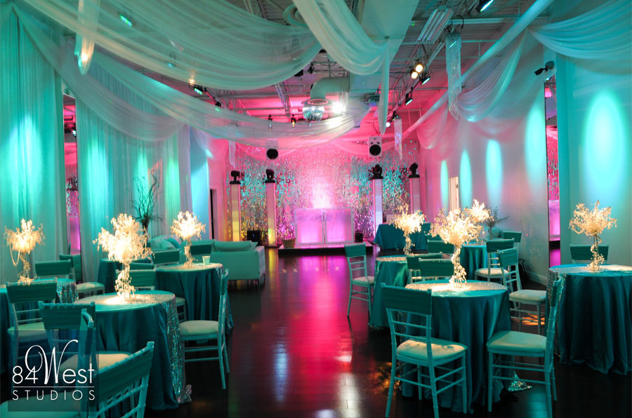 Juliu0027s Tiffany Blue Sweet 16 at A9 Event Space & Juliu0027s Tiffany Blue Sweet 16 at A9 Event Space - A9 Event SpaceA9 ...