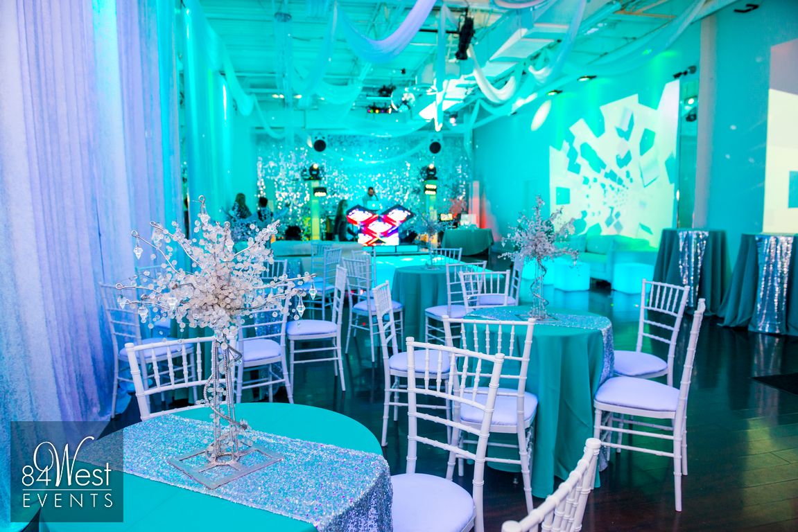 Bar mitzvah decor south florida mitzvah production by 84 west events - A9 Event Space Loft Rental Fort Lauderdale Florida Led Dance Floor Rental South Florida For Bar And Bat Mitzvahs